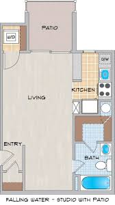 Fallingwater House  Second Floor Block In Architecture Autocad Falling Water Floor Plans