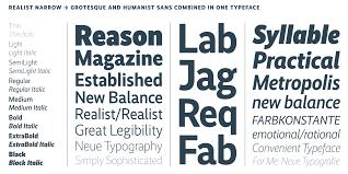 The Sans Semi Light Realist Narrow Supertype