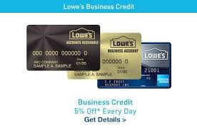 Lowes Commercial Credit Card Application Lowes Business Credit Card Login Grupobimbo Co
