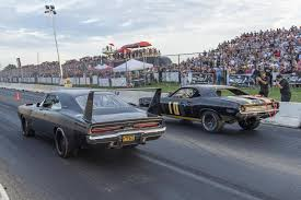 dodge draws thousands to legal street drag racing with roadkill