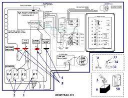simple beneteau 473 electrical diagram sailboatowners com forums electrical setup jpg