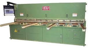 metal shear. chicago dreis \u0026 krump hydraulic metal plate shear