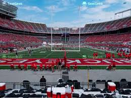 Ohio State Football Stadium Seating Chart Ohio State Buckeyes Football Seating Chart Map Seatgeek