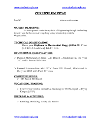 Resume Samples For Engineering Freshers Career Objective For Resume For Software Engineers Free For Download 12
