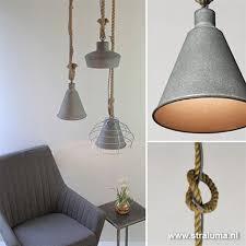 Hanglamp Beton Touw Voor Keuken Hal Wc Wwwstralumanl