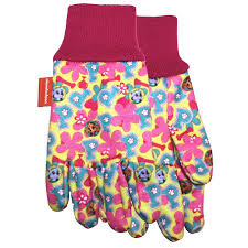 midwest quality gloves inc uni child multicolored cotton garden gloves