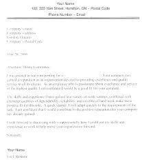 Free Cover Letter Examples For Customer Service Sample For Resumes