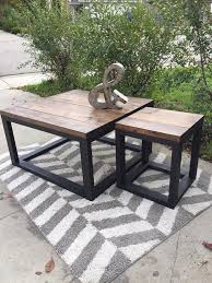 end tables for living room. rustic home decor | ana white diy shanty 2 chic shabby end tables for living room l