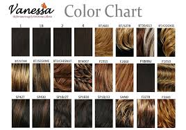 Lace Front Color Chart Vanessa Fifth Avenue Collection Futura Lace Front Wig Tops Yolan