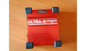 Гитарный <b>директбокс Behringer</b> Active DI-Box <b>GI-100 ULTRA</b>-<b>G</b> ...