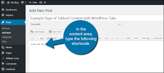 type of tab how to add tabs to wordpress post and pages greengeeks