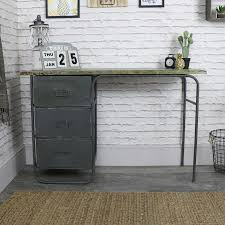 Industrial style furniture Decor Retro Industrial Style Dressing Tabledesk Melody Maison Retro Industrial Style Dressing Tabledesk Melody Maison