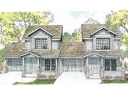duplex home plan 051m 0005