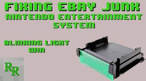 Nes Blinking Light Win Ebay Nes Blinking Light Blinking Light Win Installation Fixing Ebay Junk