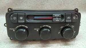 Temperature Climate Control 3 Zone Ac Fits 04 07 Dodge Caravan K98 174448 Chrysler Caravan Car Repair Diy Repair
