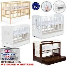 wooden baby cot bed safari giraffe