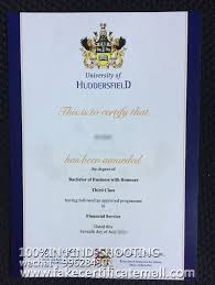 Huddersfield University Diploma Hud Fake Certificate Buy