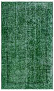 Green overdyed rug Modern Industrial Green Over Dyed Vintage Rug 38 63 Manhattan Rugs Green Overdyed Rugs Handwoven Turkish Rugs Unique Rug Store