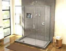 how to retile a shower re tile a shower pans are sloped waterproof and ready for