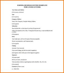 formal business letters templates formal business letter format pdf financial statement form