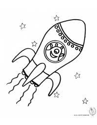 Disegno Di Alieni Nello Spazio Da Colorare Per Bambini