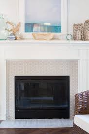 how to paint the interior of a fireplace