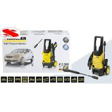 CHÍNH HÃNG ĐỨC ] Máy rửa xe gia đình chỉnh áp Karcher K2 360 KAP , Tặng dây  cấp nước 3m - Máy xịt rửa và phụ kiện