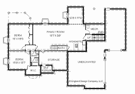 ranch style house plans with basement lovely house plans with basements new floor plans for two bedroom homes