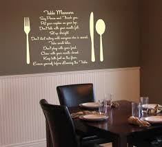 dining room wall decals dining room decor ideas and showcase design on dining room