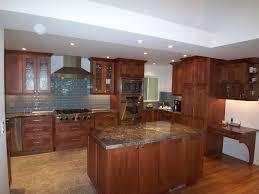 modern kitchen and bath contemporary craftsman cherry kitchen modern kitchen