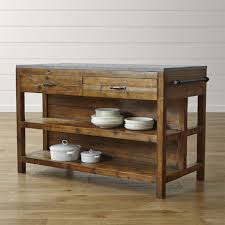 Bluestone Reclaimed Wood Large Kitchen Island Reviews Crate and
