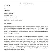 Best Ideas Of Letter Of Intent Sample For Applying Higher Position