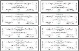Template Raffle Tickets Free Download Lottery Ticket Template Fundraiser Tickets Free Design For