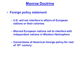 foreign policy and the monroe doctrine essay homework academic service foreign policy and the monroe doctrine essay