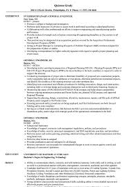 general engineer resume general engineer resume samples velvet jobs