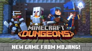 minecraft dungeons announce trailer
