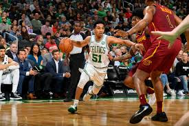 Celtics Stock Report Rookie Guards Moving Up The Depth