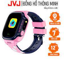 Đồng hồ định vị thông minh JVJ Y92/Y88/Y95 JVJ cho trẻ em - Hỗ trợ tiếng  Việt, Kháng nước IP67-Bảo hành 12T - Đồng Hồ Thông Minh