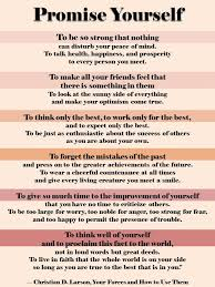 Christian Larson Quotes Best Of 24 Promises To Make To Yourself Christian Larson Quotes The Tao