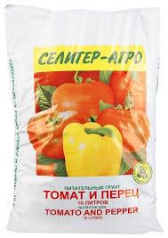 Купить <b>Грунт Селигер-Агро Томат</b> и перец 10 л. по выгодной ...