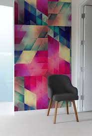 Create A Captivating Accent Wall With Geometric Pattern Wall Tiles
