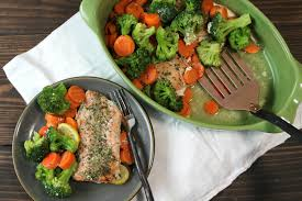 Light And Healthy Dinner One Dish Salmon Ce