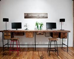 wooden desk ideas. eclectic home office idea in chicago wooden desk ideas g