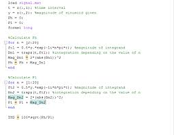 matlab code for thd
