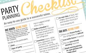 Party Planning Lists Our Top 10 Party Planning Tips Fiftyflowers