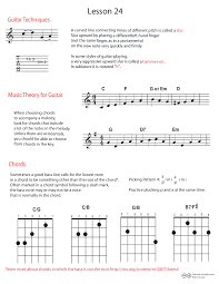 Basic Bass Chords Guitar Lesson 24 Up Slurs Bass Note Notation And Choosing Chords