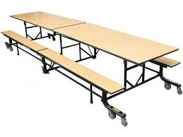 Round school lunch table Bench Seating Easyfold Mobile Cafeteria Table 10 Hertz Furniture Shop Cafeteria Tables Enjoy Our Great Selection
