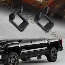 2 x Universal Truck Black Texture Coated Die-Cast Aluminum Trunk ...