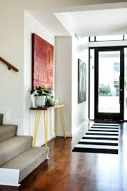modern entry rug modern hallway tables entry contemporary with glass front door transitional hall and stair modern entry rug