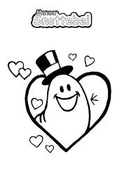 Astrid Idema On Twitter Meneer Snottebel Valentijnsdag Kleurplaat